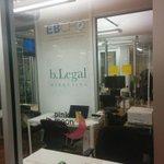We look good for #tbgrandopening. Hello, new friends! #kc @bLegalMarketing @EBCFO http://t.co/8ulSLwHtvZ