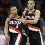 """Nic-""""can you believe @Dame_Lillard didnt make the all star team #InjusticeAnywhereIsAThreatToJustice Everywhere #BHM http://t.co/Sd44dmDngR"""