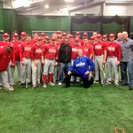 #RoyalsCaravan also stopped by to chat with @Husker_Baseball and check out the Alex Gordon Training Complex at UNL. http://t.co/B359wVjWOk