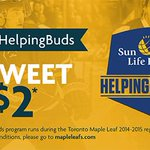 .@MapleLeafs tweet/RT #SunLifeHelpingBuds & well donate $2 to @MLSEFoundation as part of our Helping Buds program! http://t.co/8fxLtUMSRi
