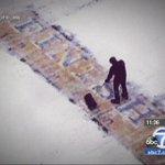 Mystery of man shoveling Boston Marathon finish line during snow storm solved http://t.co/mMUTfYQdGm http://t.co/GGheEjXmR1