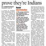 """""""@manojananda: N-E students asked to prove theyre Indians. via #TheAsianAge @narendramodi . http://t.co/9SUNLoy84H http://t.co/I7wJljkLyu"""""""
