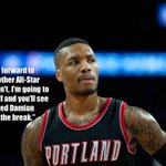 Damian Lillard is on a mission for some NBA recognition posting career-highs in points, rebounds and assists. http://t.co/UcRu7FJYBq