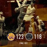 #LakersWin in double OT! http://t.co/j7fu2rmF0U