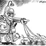 Zapiro: Zuma and corruption busting http://t.co/LEPVtjVyUP http://t.co/eRU2Pwdbeb