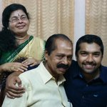 My lovely parents Nd my best the very very best friend...Mr.pinku thomas.. http://t.co/hN9HUiviB8