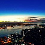 Another beautiful sunset over #Vancouver #YVR @NVanDistrict tonight from the @AM730Traffic Eye in the Sky. http://t.co/bRCzO17iE1