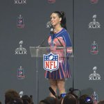 ".@katyperry let it Roar during her #SB49 press conference ""Im just hear so I wont get fined"" http://t.co/K9HUkpmxSj http://t.co/SvfGzaiX7p"