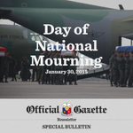 Subscribe to the Official Gazette Newsletter. Our special issue on the Day of Natl Mourning: http://t.co/WL8IflblNQ http://t.co/Fl4G5mbpfL