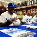 #RoyalsCaravan visits the Academy Store in Overland Park. http://t.co/STePFngLc4