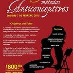 Asiste al curso Erotismo y Anticonceptivos  7 de febrero, costo $800, 14 Ote #411 Col Centro #Puebla 2225860055☎️ http://t.co/t9L1tqwNQs