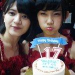 Kemarin ngerayain ulang tahun Hanna di Theater hihi @Hanna_JKT48 \:D/ http://t.co/8ElznrB0h0