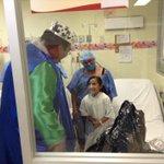 #HospitalMaternoInfantil: Hace dias visitaba niños enfermos; hoy tiene 97% del cuerpo quemado http://t.co/nleekzggaQ http://t.co/QdQ1rtoy8O