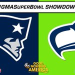 #GMASuperBowl Showdown - @Seahawks have jumped out to a big lead! @Patriots trail by 1,467 RTs. Next: famous fans! http://t.co/OrMyhaSOJZ