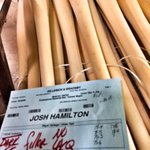 The @sluggernation factory is getting busy on @thejoshhamiltons instruments. #Angels #LumberHeaven http://t.co/wyIp5NRkwi