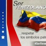 RT @teleSURtv: #SerVenezolanoEs respeitar os símbolos pátrios http://t.co/Yt7iP1k5Mo http://t.co/5JnBTGkARH