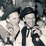 Kirk Douglas & Frank Sinatra having a laugh at the Green Mill Lounge #Chicago at 4802 N. Broadway, circa 1971. http://t.co/pRV32pf2AG