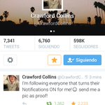 @CrawfordCollins Done, Please follow me, make my dream come true 😭😭😭 http://t.co/08LyCwySWY x16 http://t.co/oqWJtE3toL