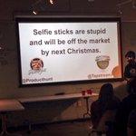 I bought a selfie stick on Amazon today. Awkward. #productdebaters http://t.co/7xroYFtCIz