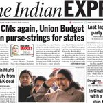 #Express5: Union Budget likely to open purse-strings for states; Retracing Godse's journey | http://t.co/KNW43xLlnr http://t.co/xXngdGSIZt