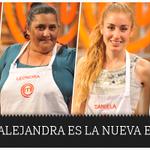 Alejandra es la nueva eliminada. Ignacio, Daniela y Leonora pasan a la final de #MasterChefChile http://t.co/ND2r76WQTP