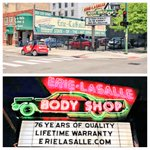 Since 1934, A fixture of #Chicago - The @ErieLasalle body shop. http://t.co/on9jYE7taL #ChicagoHistory http://t.co/EkkhmIfNbE