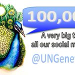 We reached 100,000 followers. Thank you for being part of @UNGeneva! #SocialUN http://t.co/38mz8lSpVr