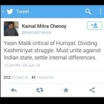 An AAPtard party leader and JNU prof.. traitor as usual.. #QuestionsToKejriwal . http://t.co/zGTCO7Rx9w