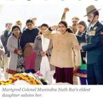 RT @vasukibhaskar: If not for soldiers like him U n I won't be walking around in peace, watching movies. Col. M.N.Rai. Salute. #India