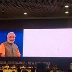 So through a stream of tweet feed @narendramodi inagurates national conference on egov in #Gujarat #egov #nceg http://t.co/Kf7HnqQ1OU