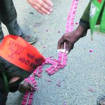 #SwachhBharat BJP leaves a trail of garbage in @thekiranbedi s rally in Delhi http://t.co/L4pHVzFolO http://t.co/zYEw4yiOKl
