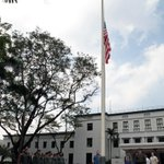 The U.S. Embassy joins the nation in the observance of National Day of Mourning in honor of the #SAF44 #tagaligtas http://t.co/rD92Cb3Ye6
