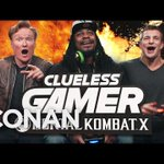 "VIDEO: Watch the full ""Clueless Gamer"" segment from Conan w/ Marshawn Lynch and Rob Gronkowski http://t.co/9jhIqwaOhr http://t.co/7LDsdmeDYV"
