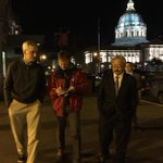 Thanks to @WhiteHouse Chief of Staff Denis McDonough, many volunteers for participating in #SF homeless count tonight http://t.co/cJbuOkjMuD