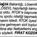 Pes!! Sağlık Bakanlığı @losev1998 in Lösemili çocuklar için hazırladığı kamu spotundan rahatsızmış #duyuyormusunbeni http://t.co/FtBQfzso2y