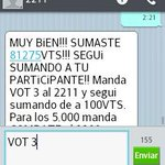SERGIO CELLI ESTAMOS CON VOS!!!! VOT 3 al 2211 http://t.co/1XyELZCscX