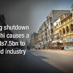 "Own karachi ...Shutdown costs Rs7.5bn to trade, industry http://t.co/K1uvepibK2 #Pakistan #Karachi #MQM http://t.co/ZAWRsiSbVs"""