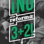 Me sumo a la campaña #Noal3mas2. Por una educación pública y de calidad, no a la mercantilización de la Universidad http://t.co/p9GjifcbYy