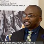Justice Minister Michael Masutha talking to @AvumileQ LIVE @DSTV 405- #ApartheidParole | #DerbyLewis #EugeneKock http://t.co/gTVpDfhzfj