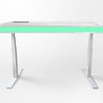 To adjust this standing desk's height, simply hold out your hand http://t.co/5ymwPVSNrV http://t.co/cvyWMC0SC7