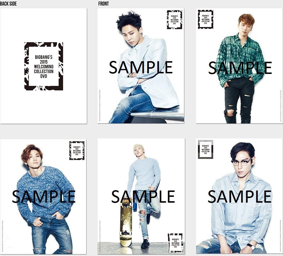 BIGBANG'S 2015 WELCOMING COLLECTION DVD [S: http://t.co/0HRlbzIwSf] http://t.co/6g7btOH0i7