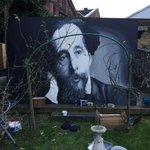 #charlesdickens #streetart #handpainted #Rochester #fineart http://t.co/3nQaD0pK1G