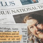 #MyOzObituary: Colleen McCullough fans mock obituary in the Australian http://t.co/tqT9Okq8oF http://t.co/d1Ci0nivPh