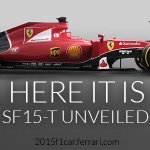 #Ferrari premiere: discover the #SF15T now. Photos, videos at http://t.co/myYiWQoFN1 #RedRev2015 http://t.co/MLbdfcRWvu