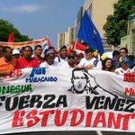 Buen día #Maracaibo! Saludamos la gran demostración de compromiso por la PAZ de nuestra juventud ! Que buena Marcha! http://t.co/02vpX6zLqk