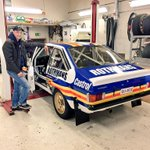 Look at that beauty! :-) Shes ready for #peurunkaralli #FordMk2 #Snow #CantWait http://t.co/4WT2sYEDiP