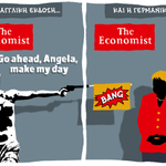 Excellent! The Economist cover take, by #Greece s most insightful cartoonist: @DHantzopoulos1: http://t.co/8gR3brz07X