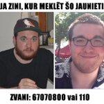 Meklējam bezvēsts pazudušu studentu no Vācijas! Zini, kur meklēt? Ziņo! Vairāk info: http://t.co/jwglfBp9zU http://t.co/TgmrRnTKDF