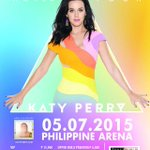 Katy Perry (@katyperry) is coming back to the Philippines, announces 2015 Manila concert: http://t.co/ezZwyQ8UeL http://t.co/wF6DoEx2Ke