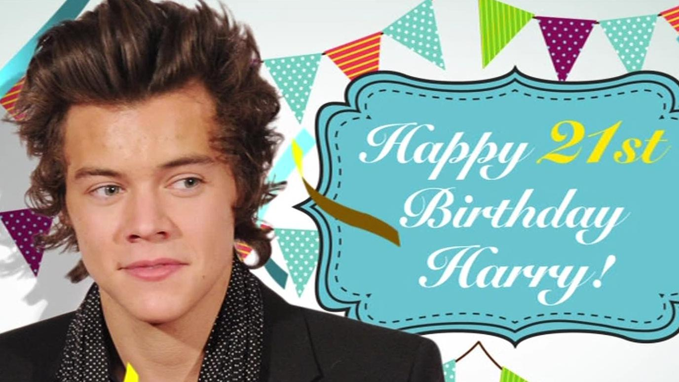 Happy birthday to 21 on Sunday!